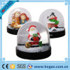 Plastic Christmas Snow Globe (santa claus)