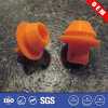 Rectangular Rubber Chair Leg Caps with Abrasion-Resistance