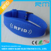 125kHz RFID Silicone Bracelet Adjustable Wristband for Events