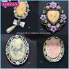 China Factory Price Wholesale Metal Brooch Fashion Brooch for Wedding