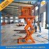 Hydraulic Stationary Small Auto Cargo Scissor Lift Platform