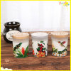 Charming Scented Soy Jar Candle with Wooden Lid