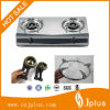 CKD Packing High Quality Stainless Steel Panel Two Burner Gas Stove (JP-GC200)