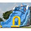 Blue Undersea High Inflatable Slide on Playground