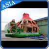 Colorful Inflatable Giant Dinosaur Slide House/Inflatable Dinosaur Slide