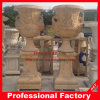 Marble Flower Pot, Carved Marble Flowerpot for Garden Decoration