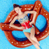 Pontoon Board Floats Bed Air Mattress Inflatable Bread Swimming Ring