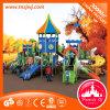 Customized Preschool Plastic Outdoor Playground Modular Slide