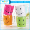 Elegant Appearance Smiling Face Plastic Cup