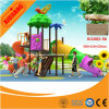 Attractive Commercial Outdoor Kids Game Castle Plastic Play Center