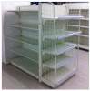Hypermarket Metal Shelves with Side Fence