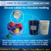 Liquid Platinum Cure Silicone for Food Grade Chocolate Mold Making