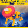 Plastic Building Block Education Toy for 3-6 Kids