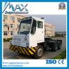 Sinotruk Hova 4X2 LNG Port Tractor Truck Port Trailer