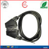 Color and Metal Customized Scart Cable for TV