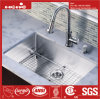 Handmade Sink, Stainless Steel Radius Under Mount Single Bowl Kitchen Sink
