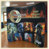 8ft Arch-Shape Tension Fabric Wall Display with Printed Graphic