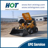 Customized Wide Used  Mini Mineral Construction Wheel  Loader Skid Steer Mini Loader