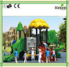 Kaiqi Small Forest Themed Children′s Playground with Slide (KQ50039C)