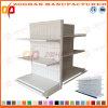 Sale Customized Steel Backhole Supermarket Gondola Shelving (Zhs460)