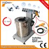 Powder Coating System with Fluidizing Hopper Unit