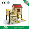 Tsc01 Wooden Playhouse with Slide