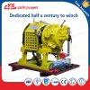 Double Brake Drilling Platform Air Winch Coal Mining Winch Piston Motor Winch