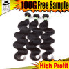 Body Wave of Indian Human Hair Weaving on Line