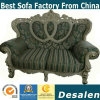 Factory Price Interior Design Royal Style Fabric Sofa (190#)