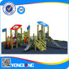 2014 Unique Design of Outdoor Playground Equipment Wood Series