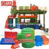 Plastic Road Way Traffic Safety Barriers Block Making Machine Manufacture