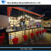 Tw LED Lighted Bar Counter for Night Club Bar Furniture