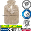 CE Faux Animal Fur Hot Water Bottle Plush Cover