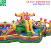 Giant Inflatable Fun City, Dragon Inflatable Bouncer Slide