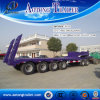 Hot Sale 3/4 Axle Low Flatbed Semi Trailer for Sale