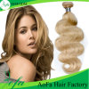 Nice Color Blond Human Virgin UK Hair Wigs for Fashion
