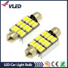 White 39mm Festoon 12SMD 5630 Car LED Auto Interior Dome Door Light Lamp Bulb Pathway