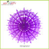 Light Purple Snowflake Paper Fans