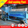 Small Mobile Wheel Diamond Processing Machine for Africa River Sand Diamond Mining