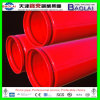 Red Paint ERW ASTM A795 Rolled Grooved Fire Protection Sprinkler Steel Pipe