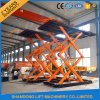 Hydraulic Scissor Car Lift for Service Station with Ce