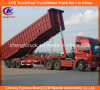 Heavy Duty Tri-Axle Dump Trailer 25cbm End Tipper Semi Trailer