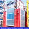 Construction Material Elevator with Rack and Pinion Driven