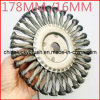 178mm Twist Knot Steel Wire Wheel Brush (YY-075)