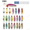 Wholesale Multi Color Spoon