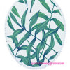 Wholesale 100% Cotton Round Circle Beach Towel with Tassel Trims