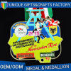 High Quality Metal Plating Gold Medal or Medallion for Honor or Souvenir