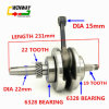 Ww-9790 Motorcycle Engine Parts with Rod Crankshaft for Cg125/Zj125