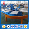 Full Servo Oval Screen Printing Machine for Chothes