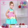 Sleeveless Stiper Children Girl's Clothing (6055#)